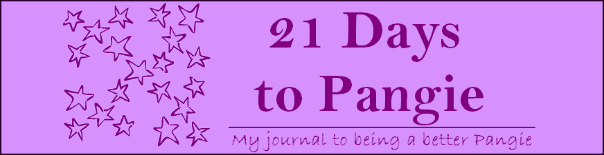 21 Days to Pangie